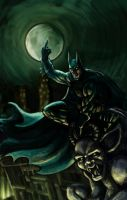 Batman The Dark Knight rises by omgitschanel