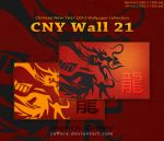 CNY Wall 21 by Caffery