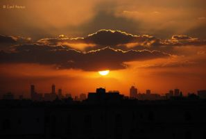 Sharjah Sunset by uae4u