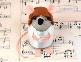 John Lennon Mouse by The-House-of-Mouse