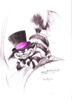 The Cheshire Cat by halfdemondog
