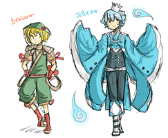 Pokemon Gijinka Adopts! - Closed by ChitChatCafe
