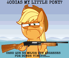 ODIAS MY LITTLE PONY..... by mercenario1945