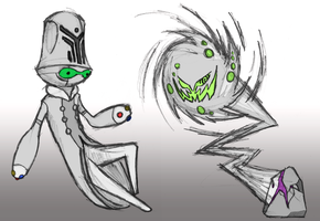 Beheeyem and Spiritomb