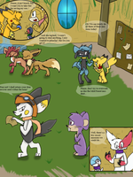 PMD: EoH Chapter 2 - 54 by Evildraws