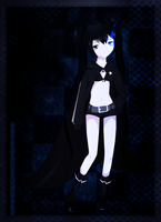 black rock shooter by cotton-candy-dreamer