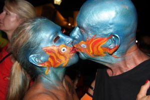 fantasy fest 2013 kissing fish by mf122792