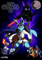 (contest) RD Wars Poster by Cattensu