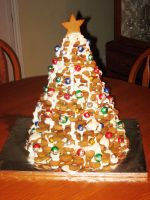 Gingerbread Tree by dwaynerjames