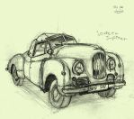 the jowett Jupiter by blurymind
