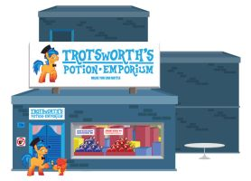 Trotsworth's Potion Emporium by Trotsworth