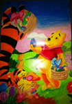 Tigger and Pooh by Duchess-of-Dismal