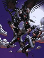 X-Force COLORED Nighttime by LucasAckerman