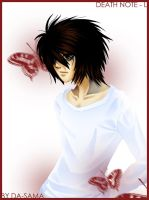 Death Note - L by Da-sama