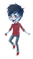 Adventure Time: Marshall Lee by shiasnightmare