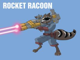 RocketRacoon by jdcunard