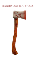 Bloody Axe PNG STOCK by KarahRobinson-Art