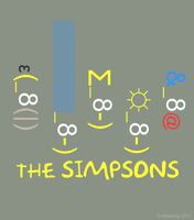 The Simpsons text smileys by LittleOmig