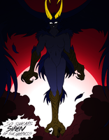 Rise of The Devilman- 173- Siren (censored) by NickinAmerica