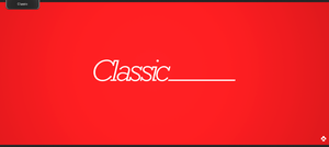 Classic Logo by Toas7y