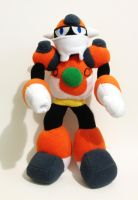 Concrete Man custom plush - Mega Man by Kitamon