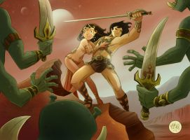 John Carter of Mars by mikemaihack