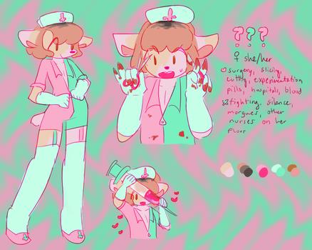 CLOSED AUCTION - goretober day 3 adopt by qmadopts