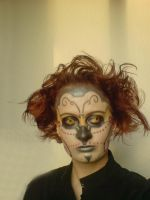 Face paint: Candy Skull by cayra