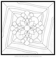 Quad Mandala OPEN COLLAB by Quaddles-Roost