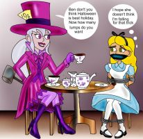 Trick Or Tea by napoleonxvi