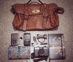 Whats NOT Inside My Bag by prettygeeky