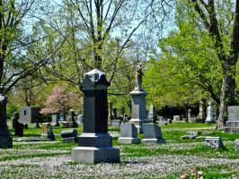 Cemetary IV by Baq-Stock