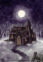Witches Cottage by DarkLiminality