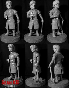 Tyrion Lannister 360 by seankylestudios