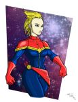 Captain Marvel by GearBluesRevolver