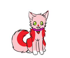 Strawberry Kitten Adoptable OPEN by Hatchetfishies
