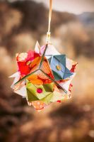 Summer Ornamental Cube by kiddophoto