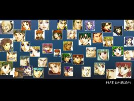 Fire Emblem All Characters Wlp by yami-joey