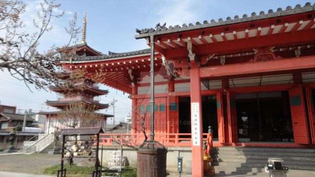 The Japanese Temple. by IGY-MIND