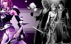 Final Fantasy 13-2 Wallpaper by xNaschi