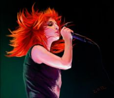 Hayley williams colour study by ReBeLKiMy