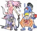 Team 7 - Colored for Mishuku by InuKid