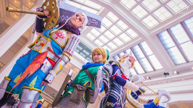Hyrule Warriors Group by PtiQuelu