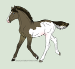 Foal design 7827 by Hippie30199