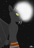 Woulfior the Monstraz dragon by psylvia