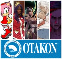 Otakon line up by Kamikazemiko