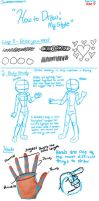 How to Draw ^^ by Sweatshirtmaster