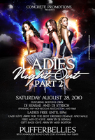 ladies night  part ii flyer by DeityDesignz