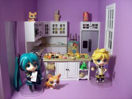 My Doll house kitchen by XBREE77X