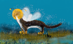 Bumble-weasel by teddybearcholla